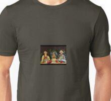Sweet Dolls at Christmas Unisex T-Shirt