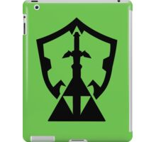 Legend of Zelda Inspired Silhouette iPad Case/Skin