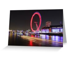 Thames River, London, England, UK * Greeting Card