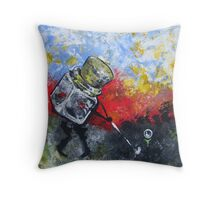 Golf Jar Throw Pillow