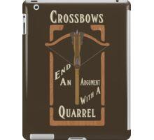 Quarrels Kill Tee iPad Case/Skin