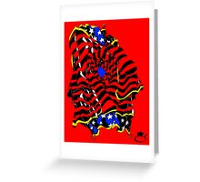 Patriot True Colors Greeting Card