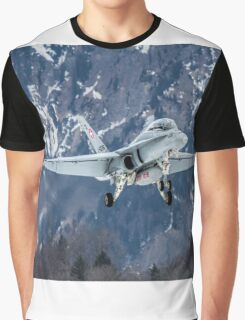 Swiss Air Force F-5E Tiger Graphic T-Shirt