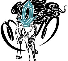 Tribal Suicune - Black by seoxys
