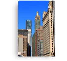 Chicago Skyscrapers Canvas Print