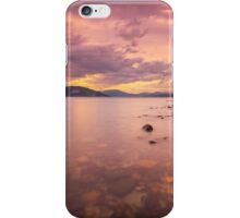 Cloch Lighthouse Sunset iPhone Case/Skin
