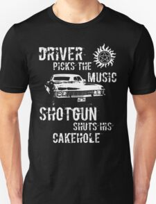 Driver Picks the Music T-Shirt