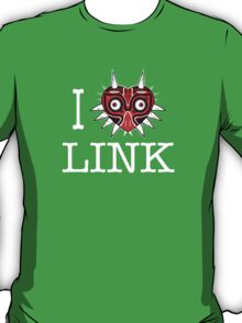 I Love Link - Majora heart T-Shirt