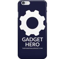 """Gadget"" Hero Logo - Dark Background iPhone Case/Skin"