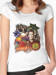 Firefly/Serenity Women's Fitted Scoop T-Shirt
