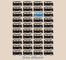 Drive different - Bus (black) by GET-THE-CAR