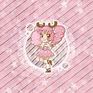 Sweet Pink Cotton Lolita iPhone Case by Vanesa Aguilar