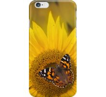 Lady Painted Sunflower iPhone Case/Skin