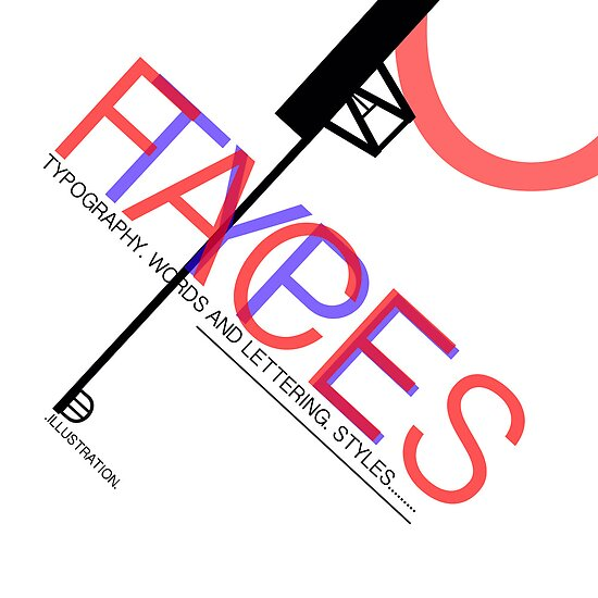 Typography design 1 by Anthony Faulkner