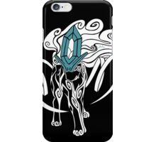 Tribal Suicune - Reverse iPhone Case/Skin