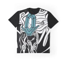 Tribal Suicune - Reverse Graphic T-Shirt