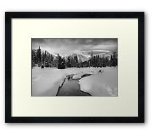 Winter land III Framed Print