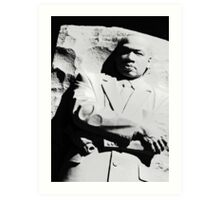 Martin Luther King Memorial Art Print