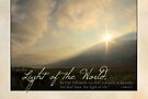 """I am the Light of the World"" (Greeting Card) by Tracy Friesen"