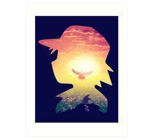 Pika Dream Art Print