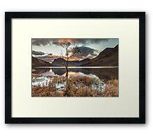 The Loner, Buttermere Framed Print