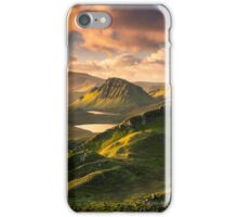 Dawn view from the Quiraing iPhone Case/Skin