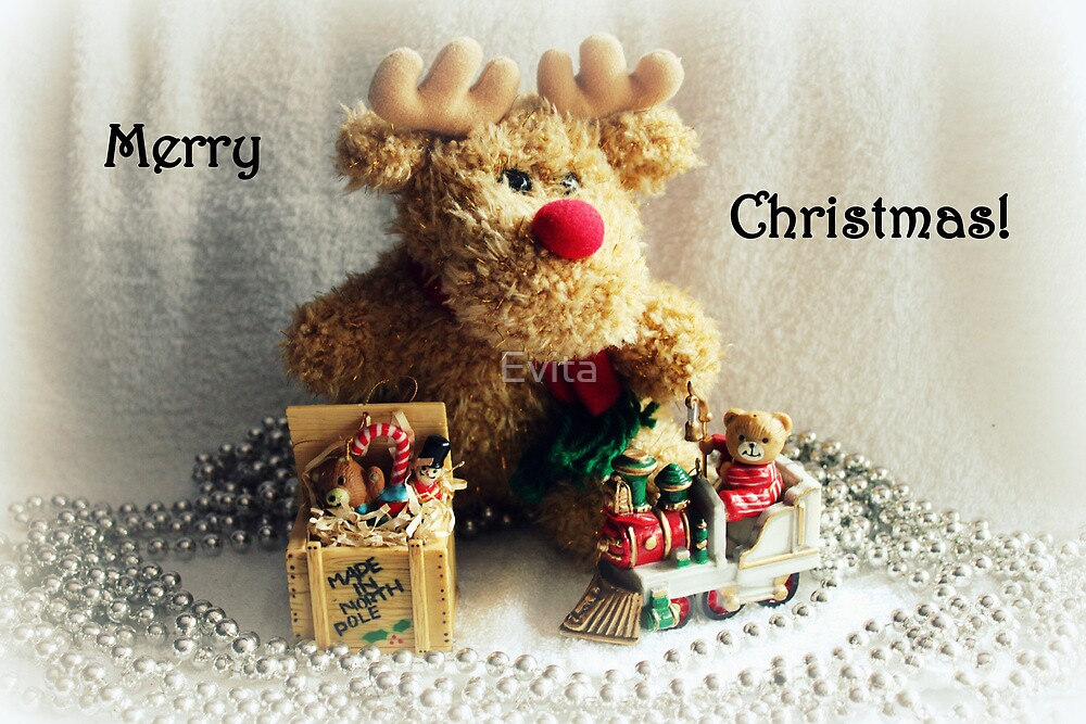 Merry Christmas - Card Series - by Evita