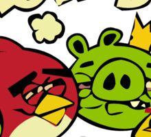 Mellow birds funny nerd geek geeky Sticker