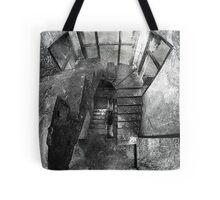 Upstairs/Downstairs Tote Bag