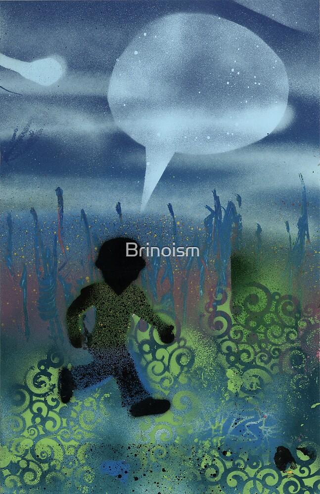 Boy V Neck by Brinoism