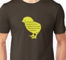 Picking on the Chickens Unisex T-Shirt