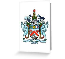 Coat of Arms of Saint Kitts & Nevis Greeting Card