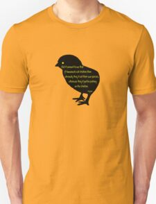 Picking on the Chicken Silhouette T-Shirt