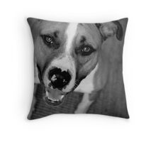 I'm All Smiles Throw Pillow