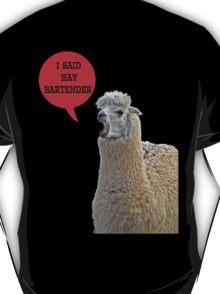 alpaca speaking T-Shirt