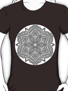 Mandala 54 Monochrome T-Shirt