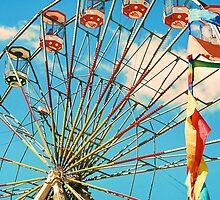 Retro Ferris Wheel by R-Walker
