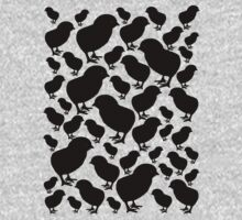 Chick Silhouette by Bami