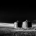 North Dakota Study in B&W III by Nate Welk