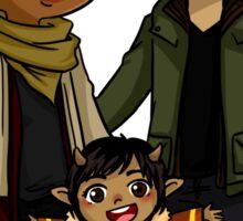 Saga - Alana, Marko and Hazel Sticker