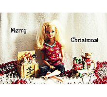 Waiting For Santa Photographic Print