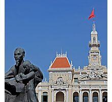 Uncle Ho, Saigon.  Photographic Print