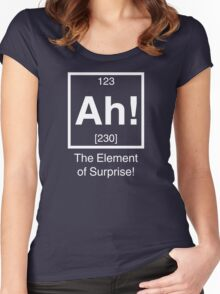 Ah! The element of surprise! Women's Fitted Scoop T-Shirt