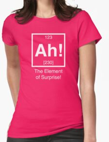 Ah! The element of surprise! Womens Fitted T-Shirt