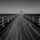 West Pier Whitby by Paul Bettison