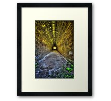 Light at the End... Framed Print