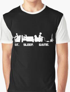 Eat.Sleep.Game. T-Shirt Graphic T-Shirt