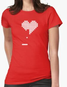 Gamer Love Womens Fitted T-Shirt