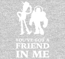 Toy Story Woody and Buzz Lightyear You've Got A Friend In Me One Piece - Long Sleeve