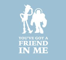 Toy Story Woody and Buzz Lightyear You've Got A Friend In Me T-Shirt
